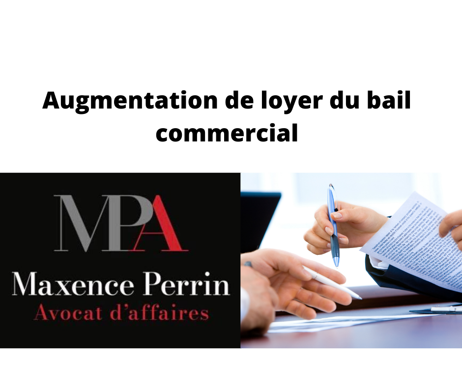 L'augmentation du loyer du bail commercial