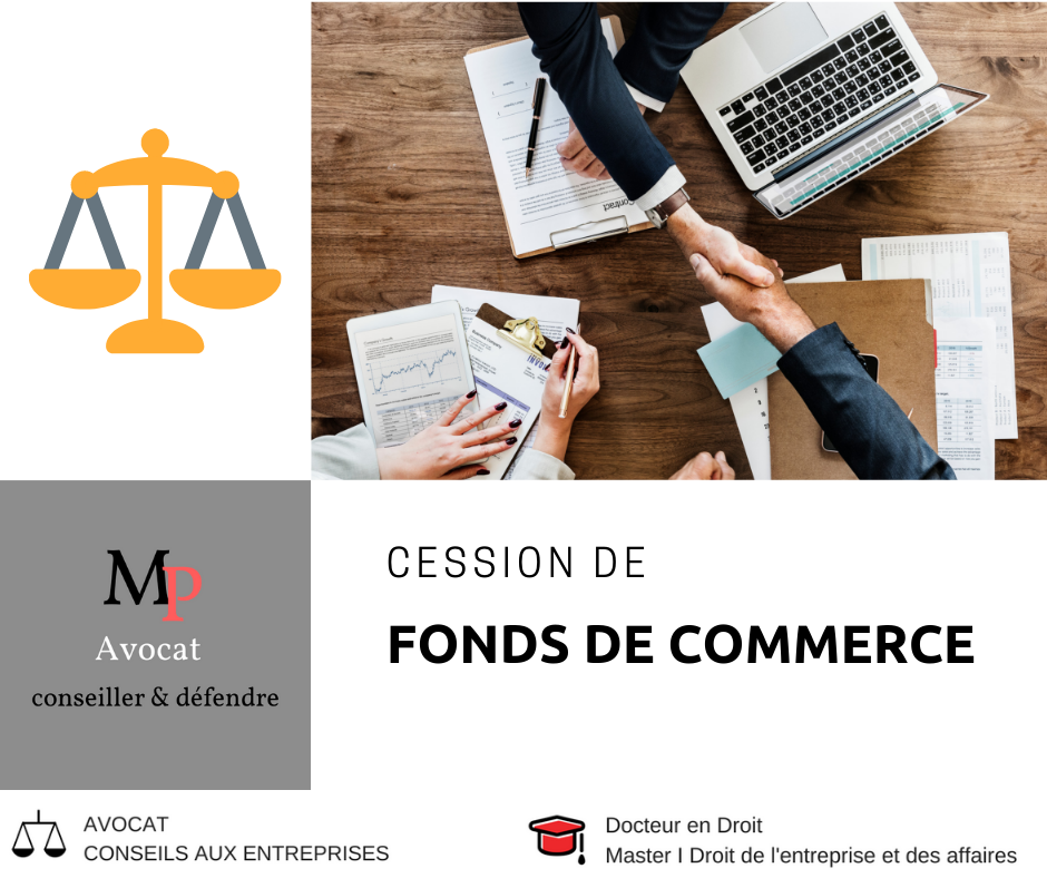 La cession de fonds de commerce