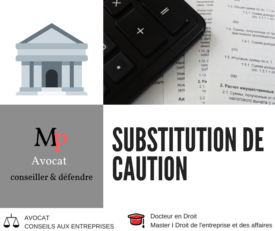 Cession de parts sociales/actions et substitution des engagements de caution​​​​​​​